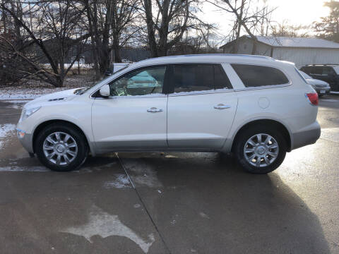 2012 Buick Enclave for sale at 6th Street Auto Sales in Marshalltown IA