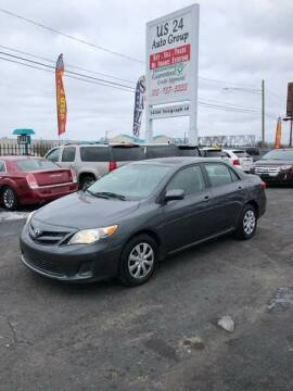 2011 Toyota Corolla for sale at US 24 Auto Group in Redford MI