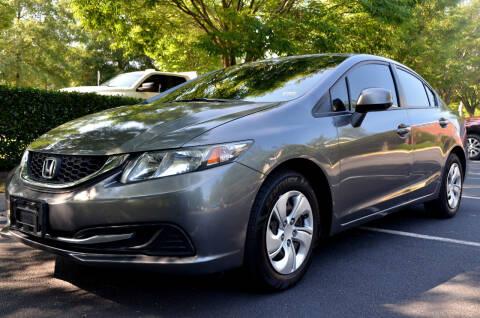 2013 Honda Civic for sale at Wheel Deal Auto Sales LLC in Norfolk VA