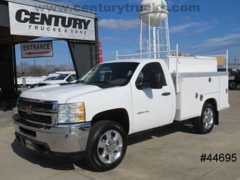 2013 Chevrolet Silverado 2500HD for sale at CENTURY TRUCKS & VANS in Grand Prairie TX