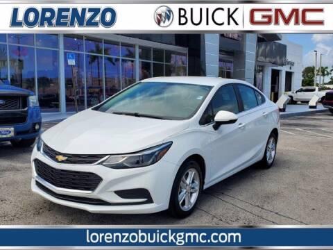 2017 Chevrolet Cruze for sale at Lorenzo Buick GMC in Miami FL