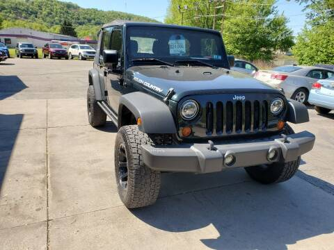 2012 Jeep Wrangler Unlimited for sale at A - K Motors Inc. in Vandergrift PA