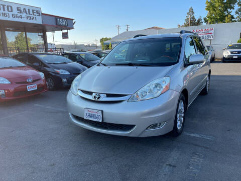 2009 Toyota Sienna for sale at Adams Auto Sales in Sacramento CA