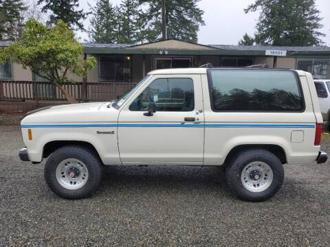 1987 Ford Bronco II for sale at WILSON MOTORS in Spanaway WA