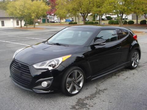 2015 Hyundai Veloster Turbo for sale at Uniworld Auto Sales LLC. in Greensboro NC