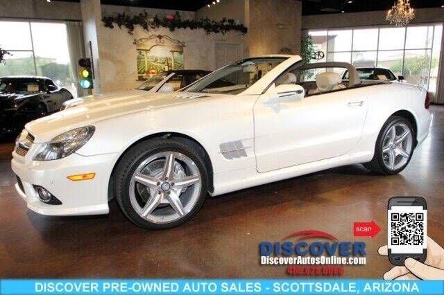 2011 Mercedes-Benz SL-Class for sale at Discover Pre-Owned Auto Sales in Scottsdale AZ