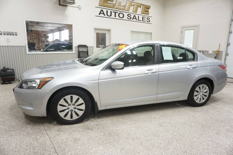 2010 Honda Accord for sale at Elite Auto Sales in Ammon ID