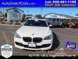 2013 BMW 7 Series for sale at Auto Direct Trucks.com in Edgewater Park NJ