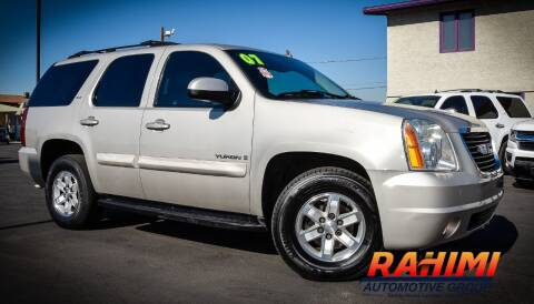 2007 GMC Yukon for sale at Rahimi Automotive Group in Yuma AZ