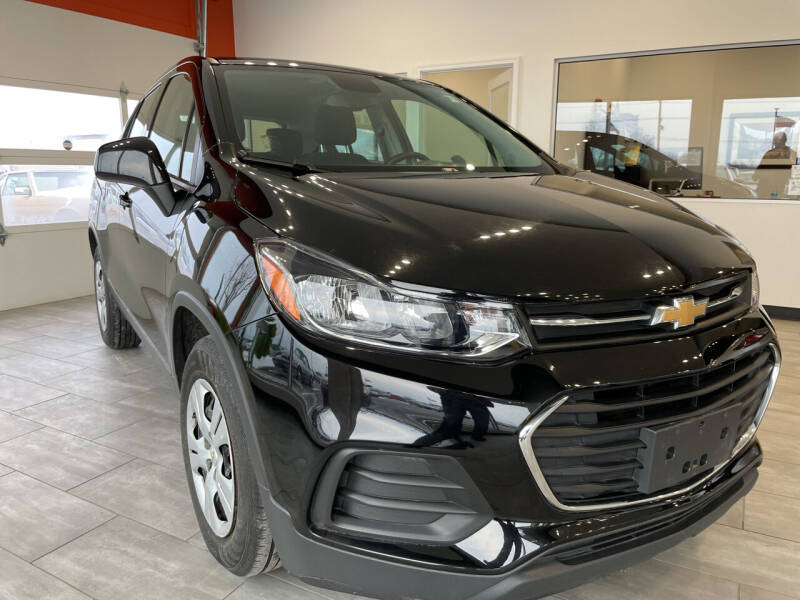 2018 Chevrolet Trax for sale at Evolution Autos in Whiteland IN