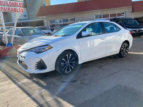 2018 Toyota Corolla for sale at STS Automotive in Denver CO