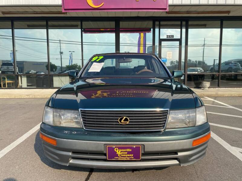 1997 Lexus LS 400 for sale at East Carolina Auto Exchange in Greenville NC