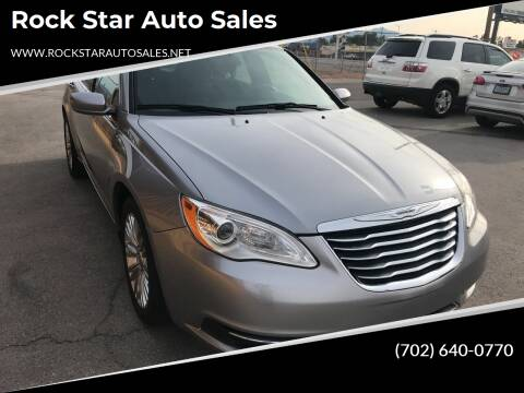 2013 Chrysler 200 for sale at Rock Star Auto Sales in Las Vegas NV