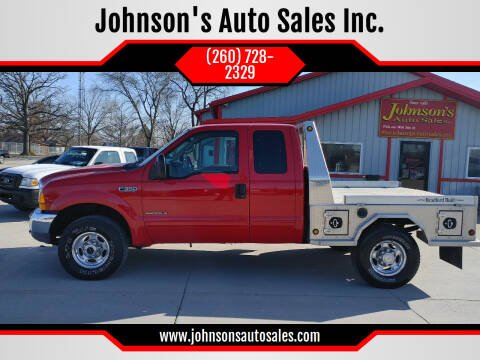 2001 Ford F-350 Super Duty for sale at Johnson's Auto Sales Inc. in Decatur IN