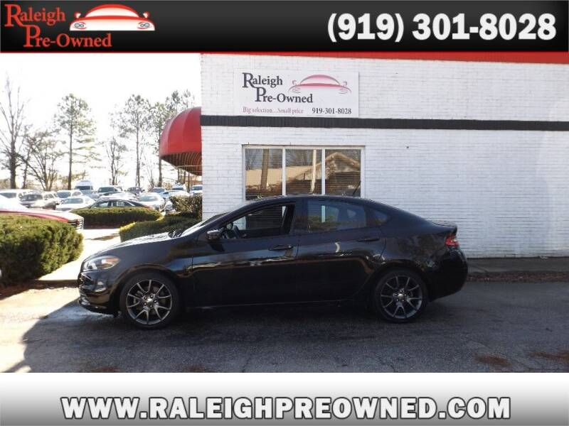 2013 Dodge Dart for sale at Raleigh Pre-Owned in Raleigh NC
