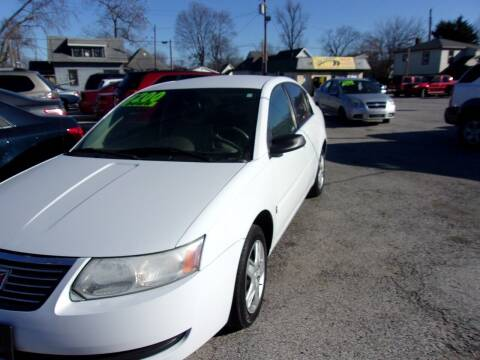 2007 Saturn Ion for sale at Car Credit Auto Sales in Terre Haute IN