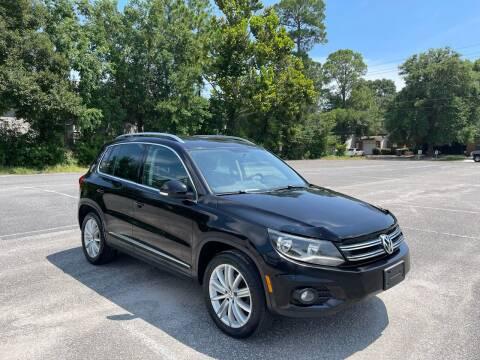 2012 Volkswagen Tiguan for sale at Asap Motors Inc in Fort Walton Beach FL