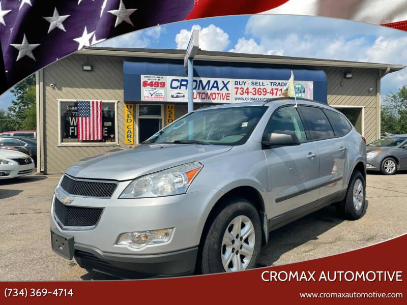 2012 Chevrolet Traverse for sale at Cromax Automotive in Ann Arbor MI