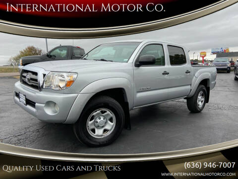 2010 Toyota Tacoma for sale at International Motor Co. in St. Charles MO