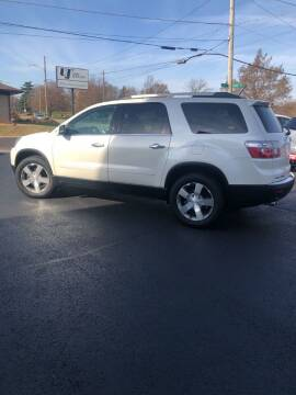 2012 GMC Acadia for sale at Parkside Auto Sales & Service in Pekin IL