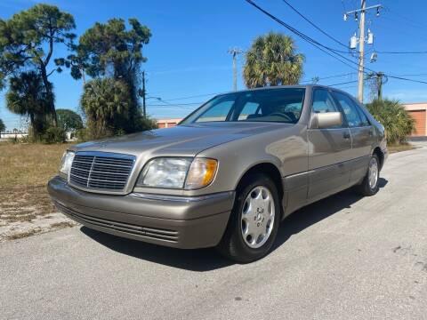 1995 Mercedes-Benz S-Class for sale at American Classics Autotrader LLC in Pompano Beach FL
