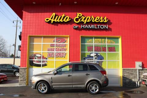 2012 Chevrolet Captiva Sport for sale at AUTO EXPRESS OF HAMILTON LLC in Hamilton OH