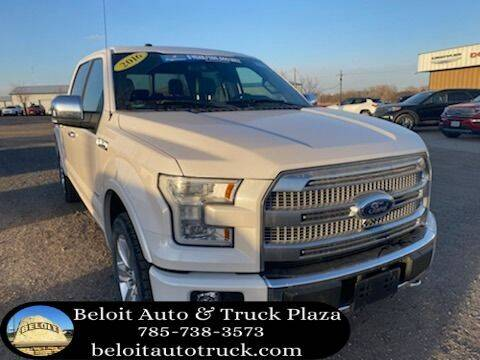 2016 Ford F-150 for sale at BELOIT AUTO & TRUCK PLAZA INC in Beloit KS