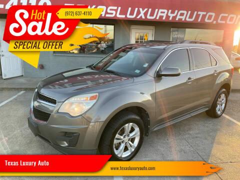 2011 Chevrolet Equinox for sale at Texas Luxury Auto in Cedar Hill TX