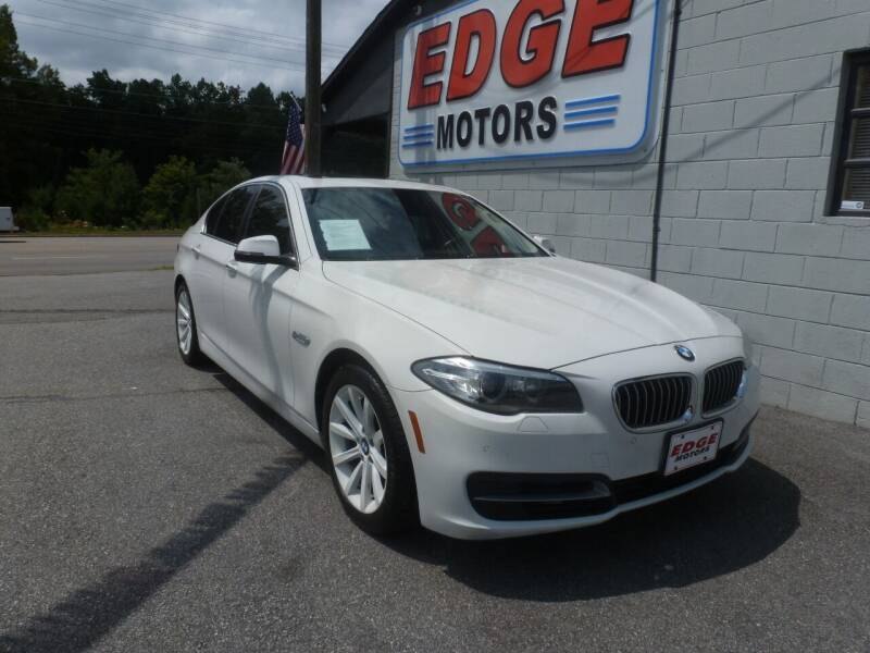 2014 BMW 5 Series for sale at Edge Motors in Mooresville NC