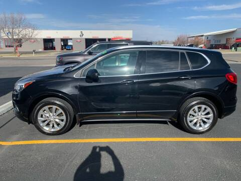2017 Buick Envision for sale at ALOTTA AUTO in Rexburg ID