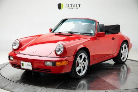1991 Porsche 911 for sale at Jetset Automotive in Cedar Rapids IA