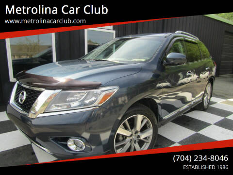 2014 Nissan Pathfinder for sale at Metrolina Car Club in Matthews NC