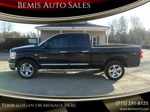 2008 Dodge Ram Pickup 1500 for sale at Bemis Auto Sales in Crivitz WI