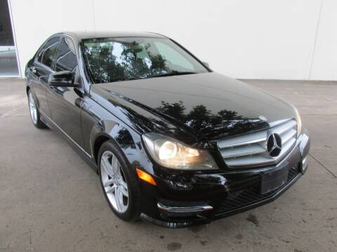 2013 Mercedes-Benz C-Class for sale at QUALITY MOTORCARS in Richmond TX
