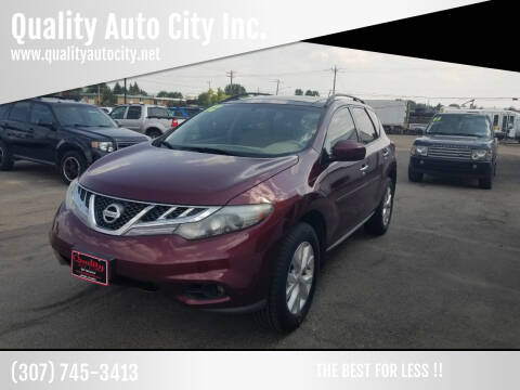 2012 Nissan Murano for sale at Quality Auto City Inc. in Laramie WY