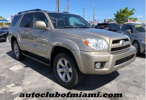 2008 Toyota 4Runner for sale at AUTO CLUB OF MIAMI in Miami FL