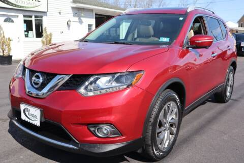 2015 Nissan Rogue for sale at Randal Auto Sales in Eastampton NJ