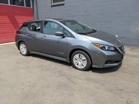 2019 Nissan LEAF for sale at Paramount Motors NW in Seattle WA