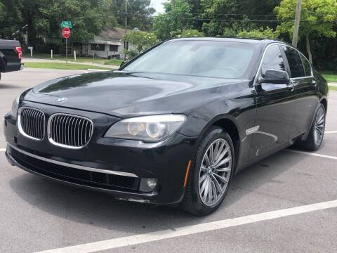 2012 BMW 7 Series for sale at Consumer Auto Credit in Tampa FL