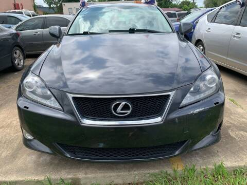 2008 Lexus IS 250 for sale at 1st Stop Auto in Houston TX