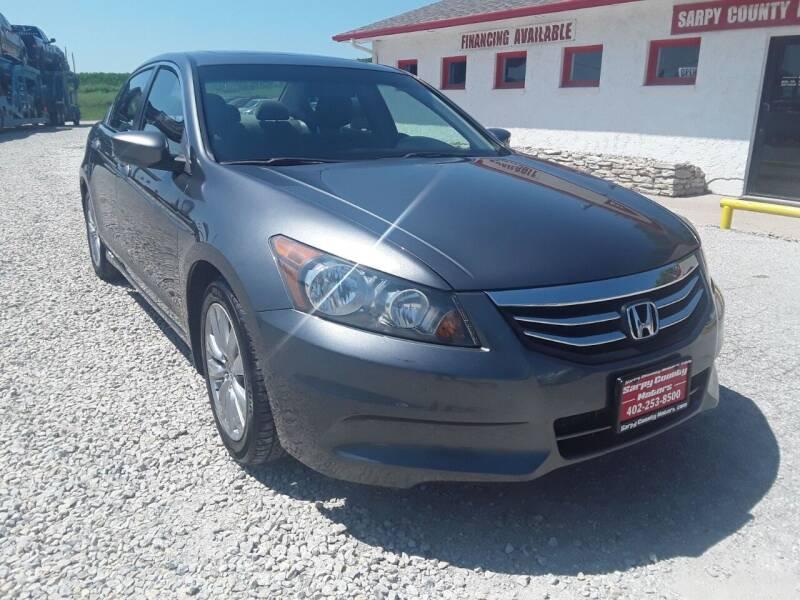 2011 Honda Accord for sale at Sarpy County Motors in Springfield NE