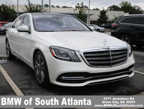 2018 Mercedes-Benz S-Class for sale at Carol Benner @ BMW of South Atlanta in Union City GA