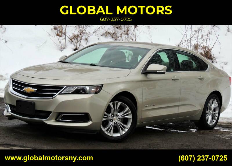 2014 Chevrolet Impala for sale at GLOBAL MOTORS in Binghamton NY