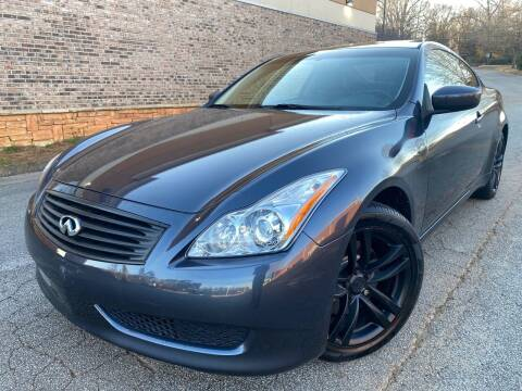2009 Infiniti G37 Coupe for sale at Gwinnett Luxury Motors in Buford GA