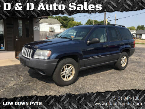 2004 Jeep Grand Cherokee for sale at D & D Auto Sales in Hamilton OH