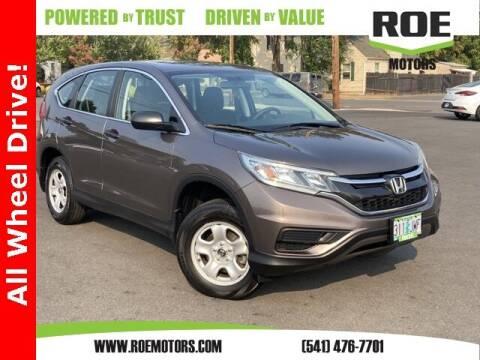 2015 Honda CR-V for sale at Roe Motors in Grants Pass OR