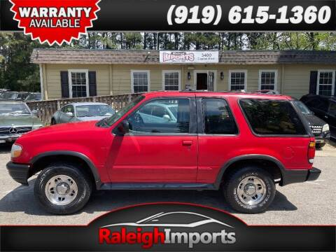1996 Ford Explorer for sale at Raleigh Imports in Raleigh NC