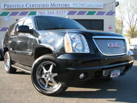 2008 GMC Yukon for sale at Prestige Certified Motors in Falls Church VA
