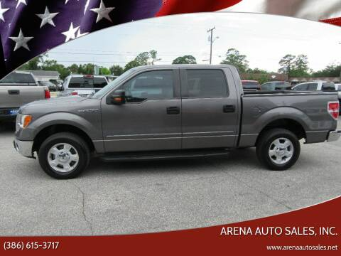 2012 Ford F-150 for sale at ARENA AUTO SALES,  INC. in Holly Hill FL
