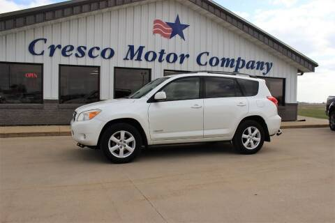 2008 Toyota RAV4 for sale at Cresco Motor Company in Cresco IA